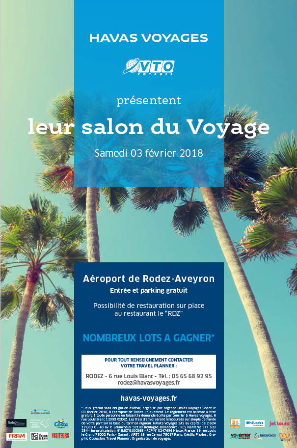 Salon du voyage 2018 a roport de rodez aveyron for Salon voyage